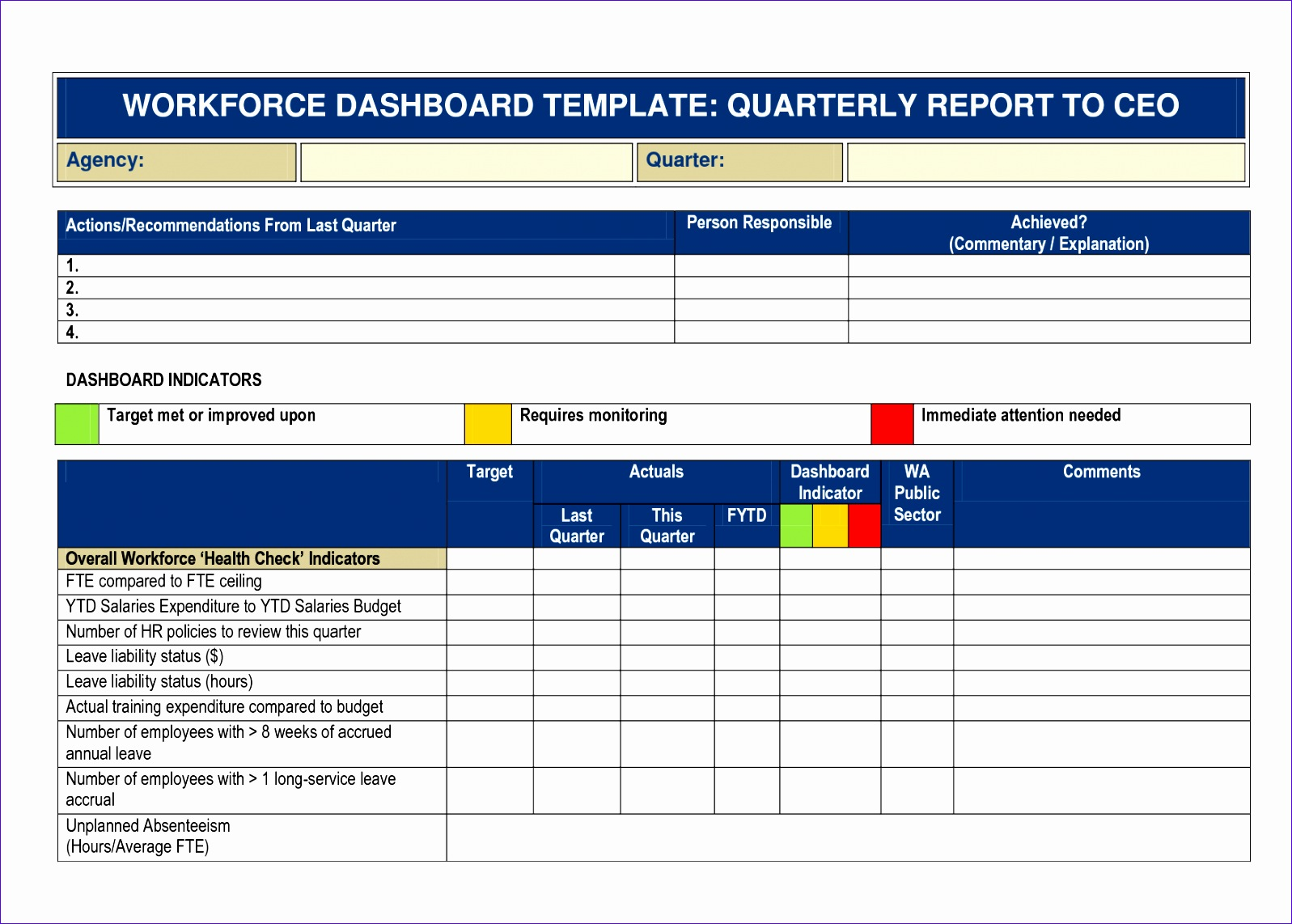 14 Excel Check List Template