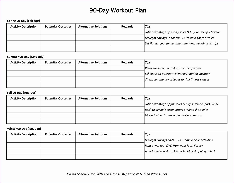 12 Excel Daily Calendar Template