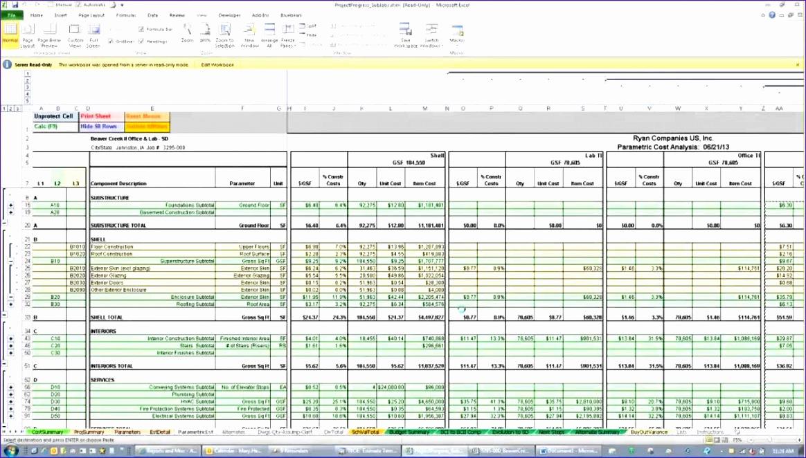 10 Excel Estimating Templates  ExcelTemplates