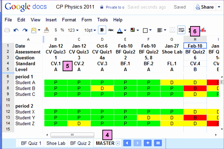 9 Excel Gradebook Template