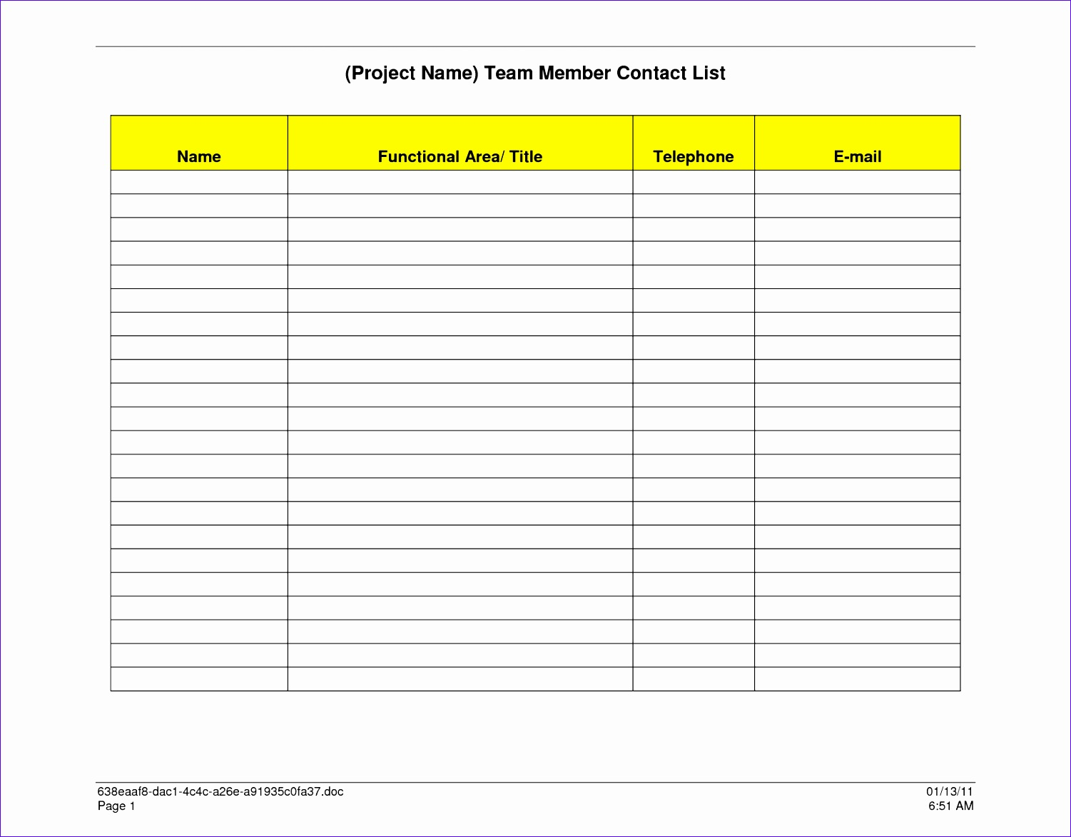 5 Excel Roster Template Free