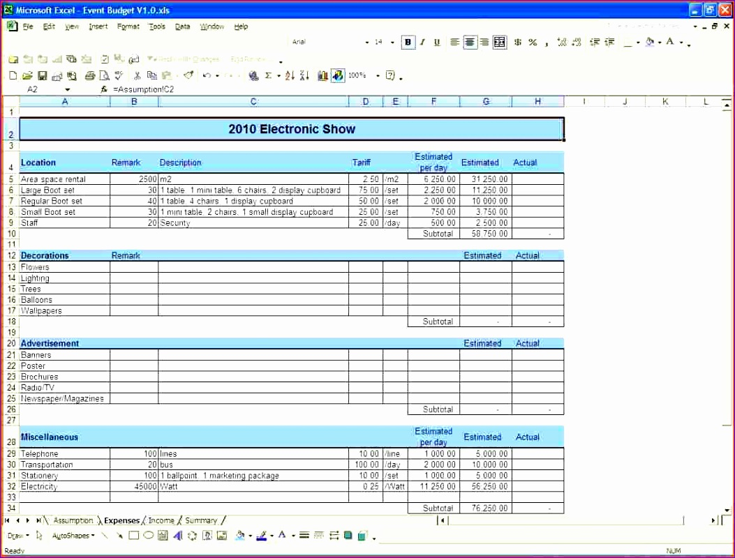 6 Excel Small Business Templates