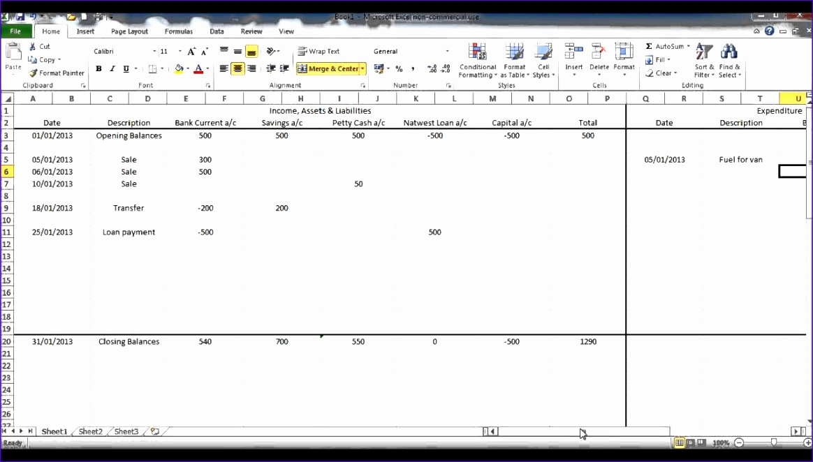 12 Excel Templates for Business Accounting