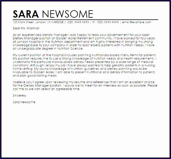 8 Excellent Cover Letter Templates ExcelTemplates