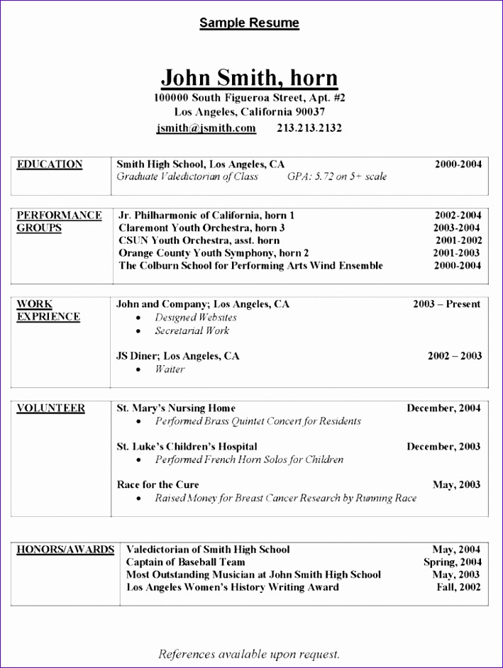 excellent resume templates word
