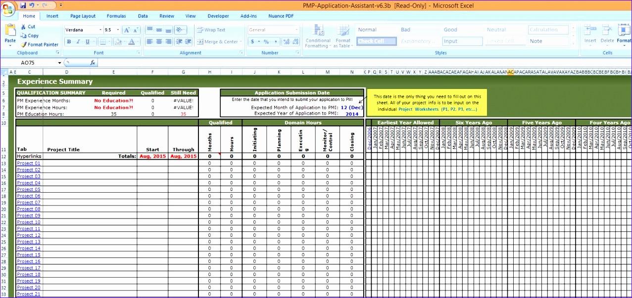 management report format template