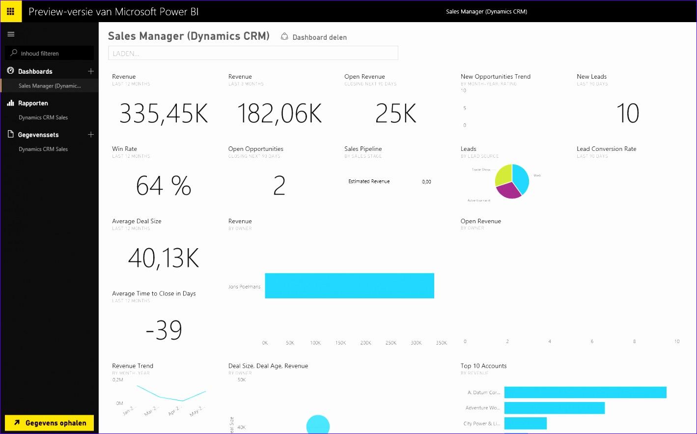 8ytics Excel Dashboard Template