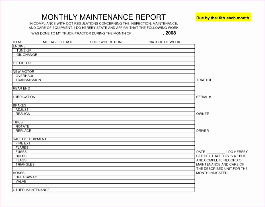 Inspection Sheet Template Excel Iikef Inspirational Vehicle ...