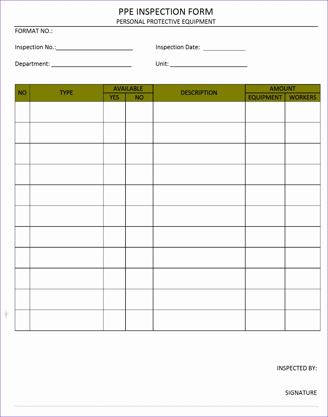 8 Inventory Control Templates Excel Free