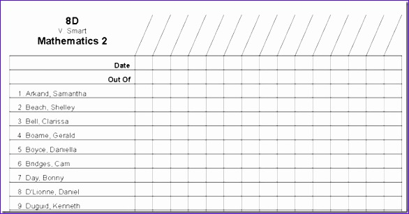 Staff Roster Template Excel