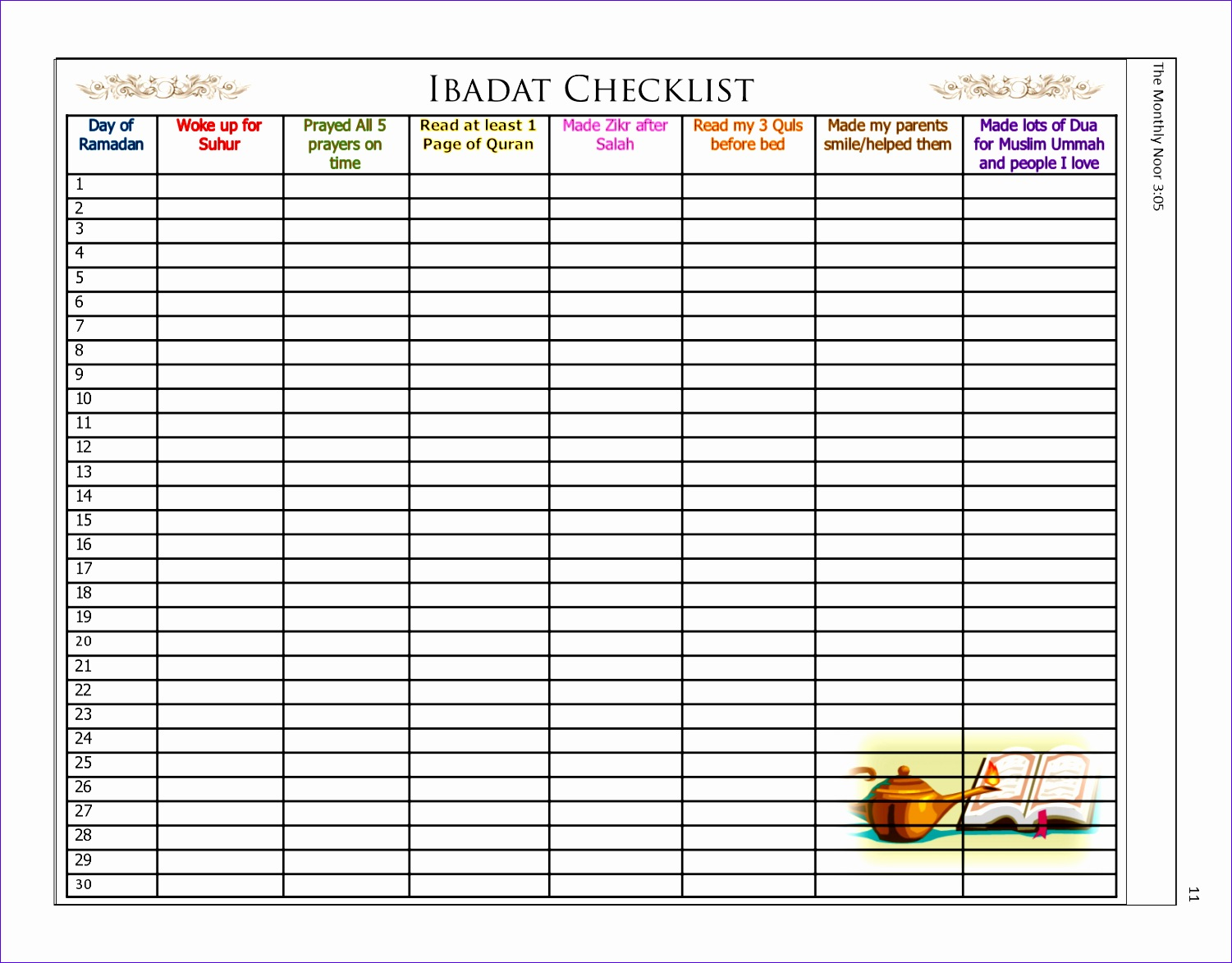 11 Monthly Schedule Excel Template