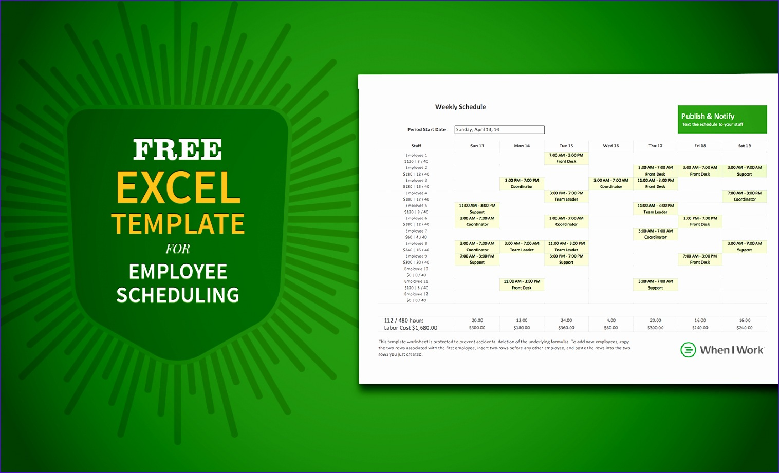 6 Overtime Template Excel