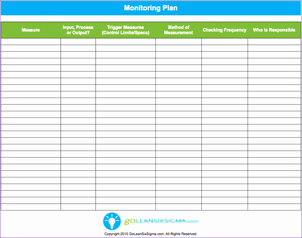 10 Project Management Plan Template Excel
