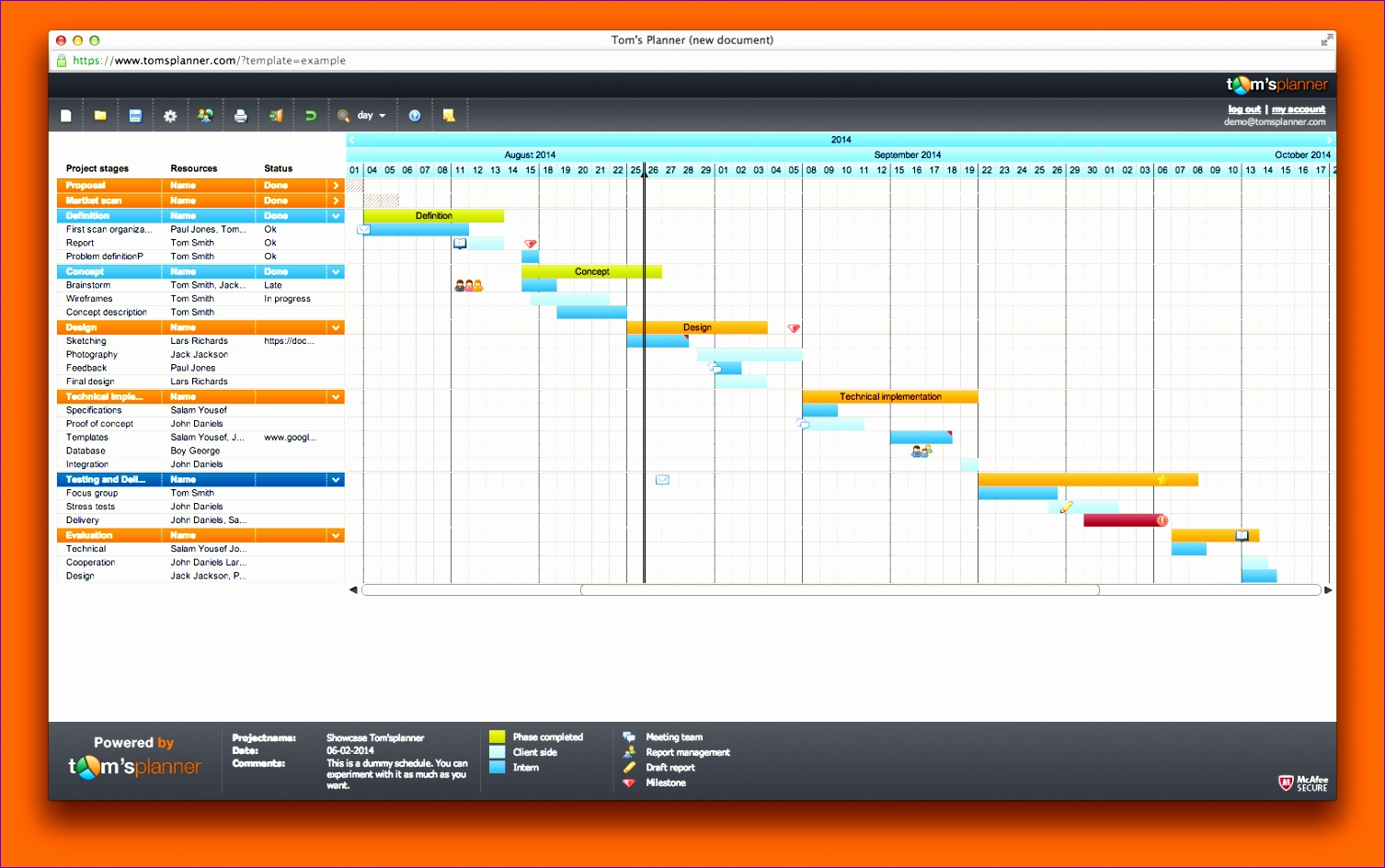 10 Project Timeline Template Excel Free