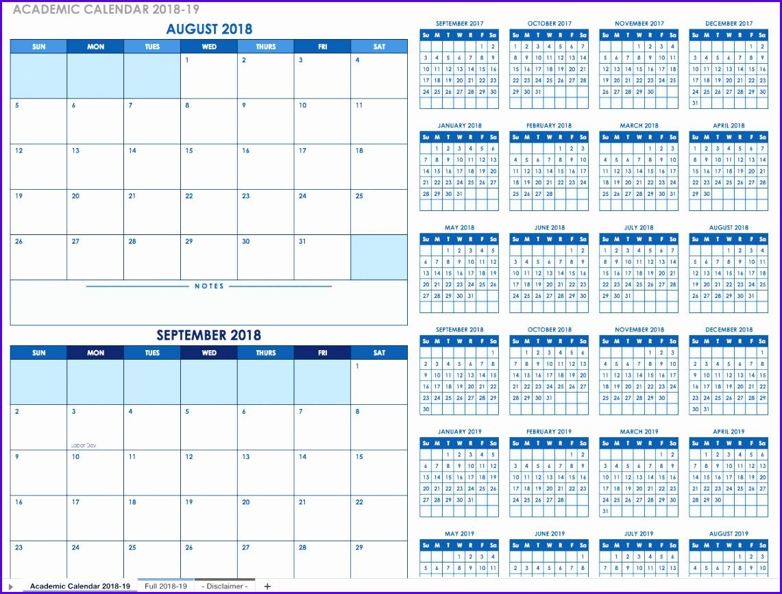 12 Excel Spreadsheet Calendar Template