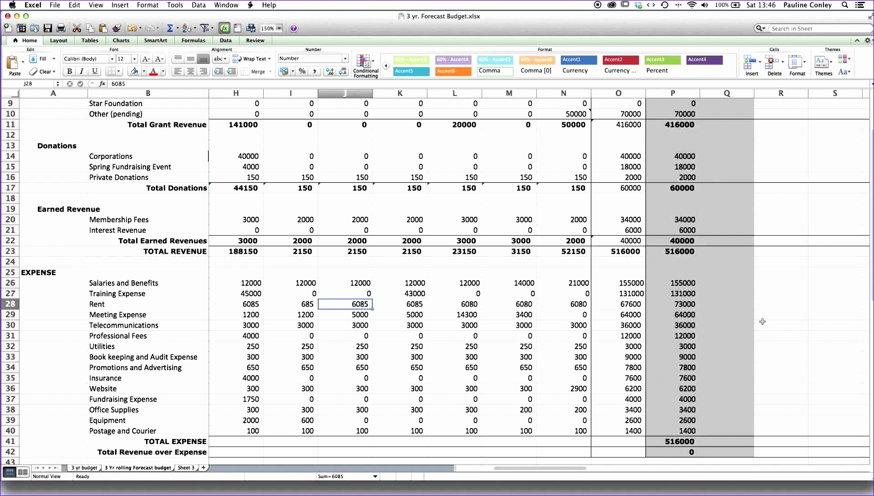 T Account Worksheet Excel