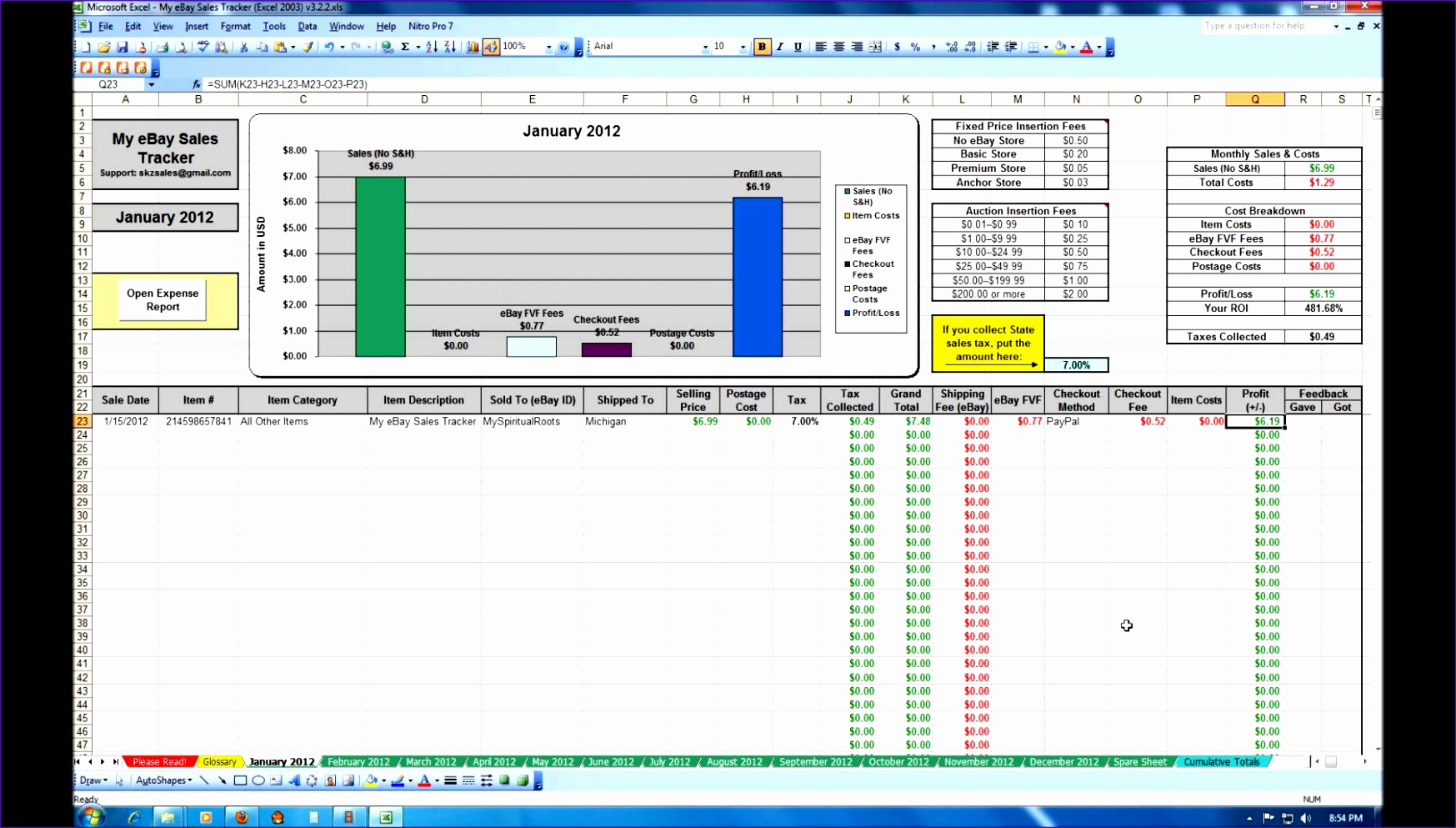 9 Task Tracking Excel Template