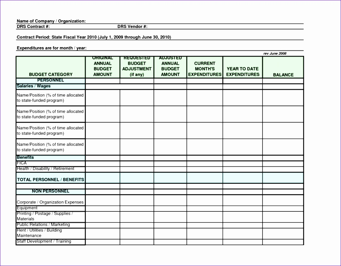 6 Tracking Spreadsheet Template Excel