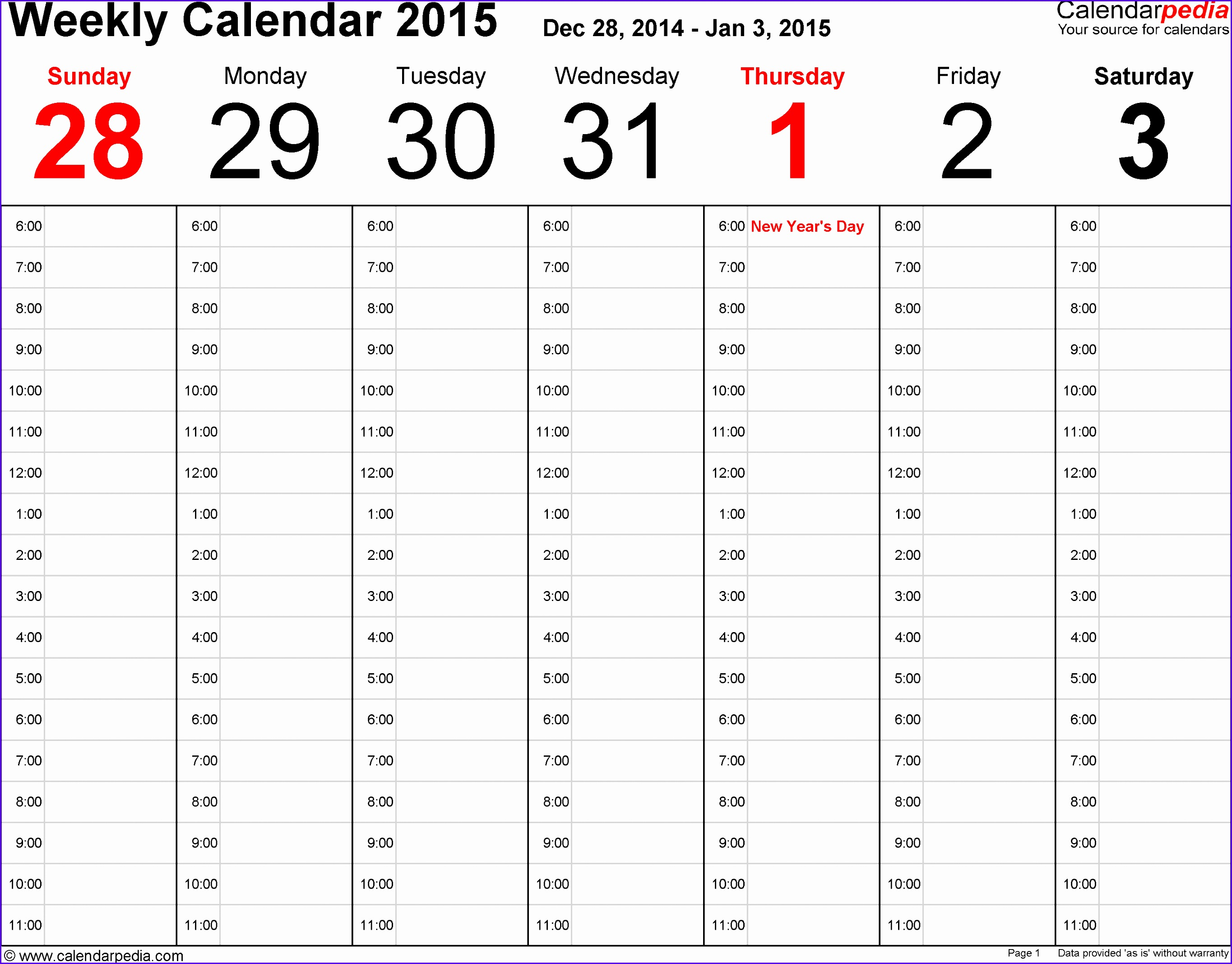 12 Monthly Planner Template Excel