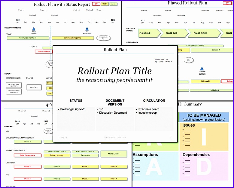 10 Project Resource Planning Template Excel