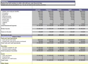 Consolidation Report Template  Annual Financial Report Template