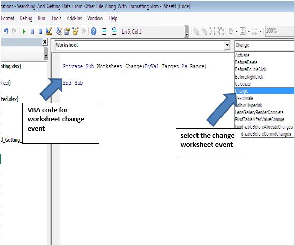 Searching And Getting Value From External Workbook Based