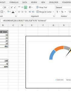 This is the way you can prepare gauge chart  with combination of charts doughnut and pie in microsoft excel also tips rh exceltip