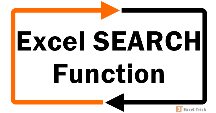 Excel SEARCH-Function