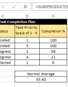 also calculating weighted average in excel rh exceltrick