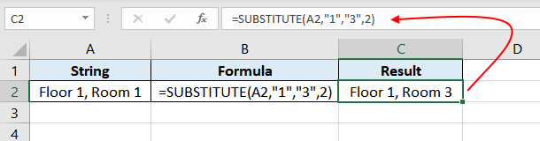 Excel-SUBSTITUTE-function-Example-02