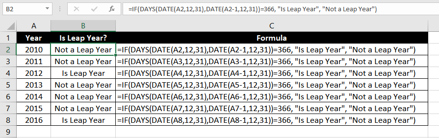 DAYS_Function_Excel_004
