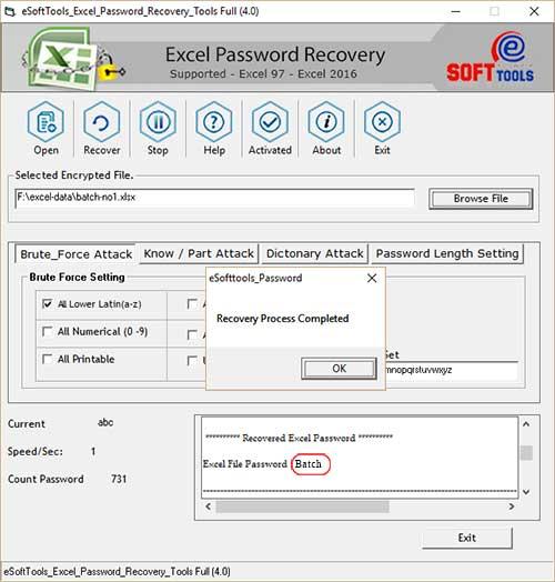 Excel Unlocker Tool to Unlock Excel File Quickly