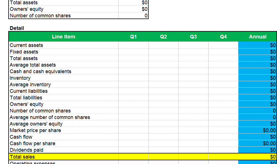 how to create monthly report in excel
