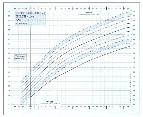Baby Growth Chart Templates Word Templates