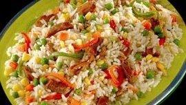 Ensaladas con arroz