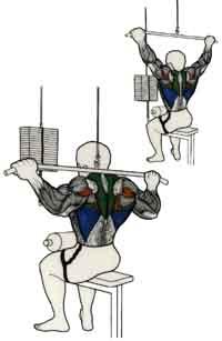 ejercicio para brazos y espalda