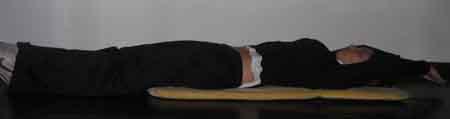 ejercicio de elongacion de espalda