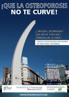 Prevenir la osteoporosis en la Argentina