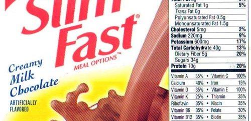 Los batidos dietéticos no hacen mas efectiva una dieta