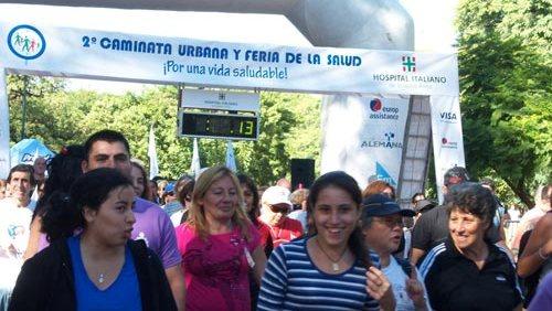 3 º Caminata urbana y Feria de la Salud del Hospital Italiano