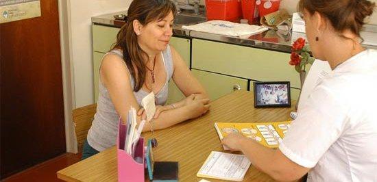 Charla sobre prevencion de cancer de cuello de utero en el Hospital Italiano