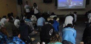 Curso de Reanimacion Cardiopulmonar en las escuelas