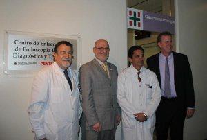 endoscopia  El Hospital Italiano inaugura el 1 º Centro de perfeccionamiento en Endoscopía digestiva Pentax en Argentina