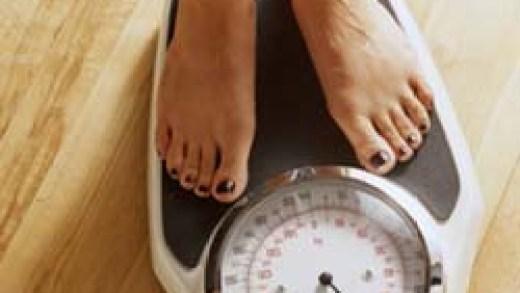 la balanza y la dieta