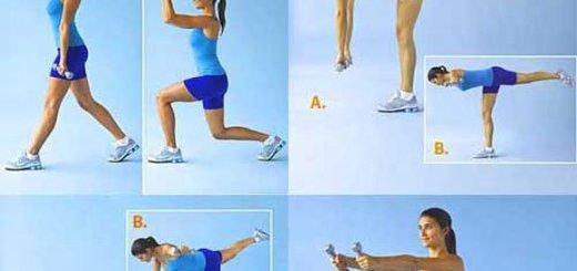 ejercicios cadera y cintura  Como reducir la cintura y caderas con 4 ejercicios