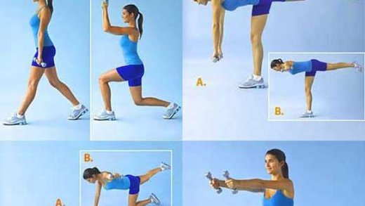 Como reducir la cintura y caderas con 4 ejercicios