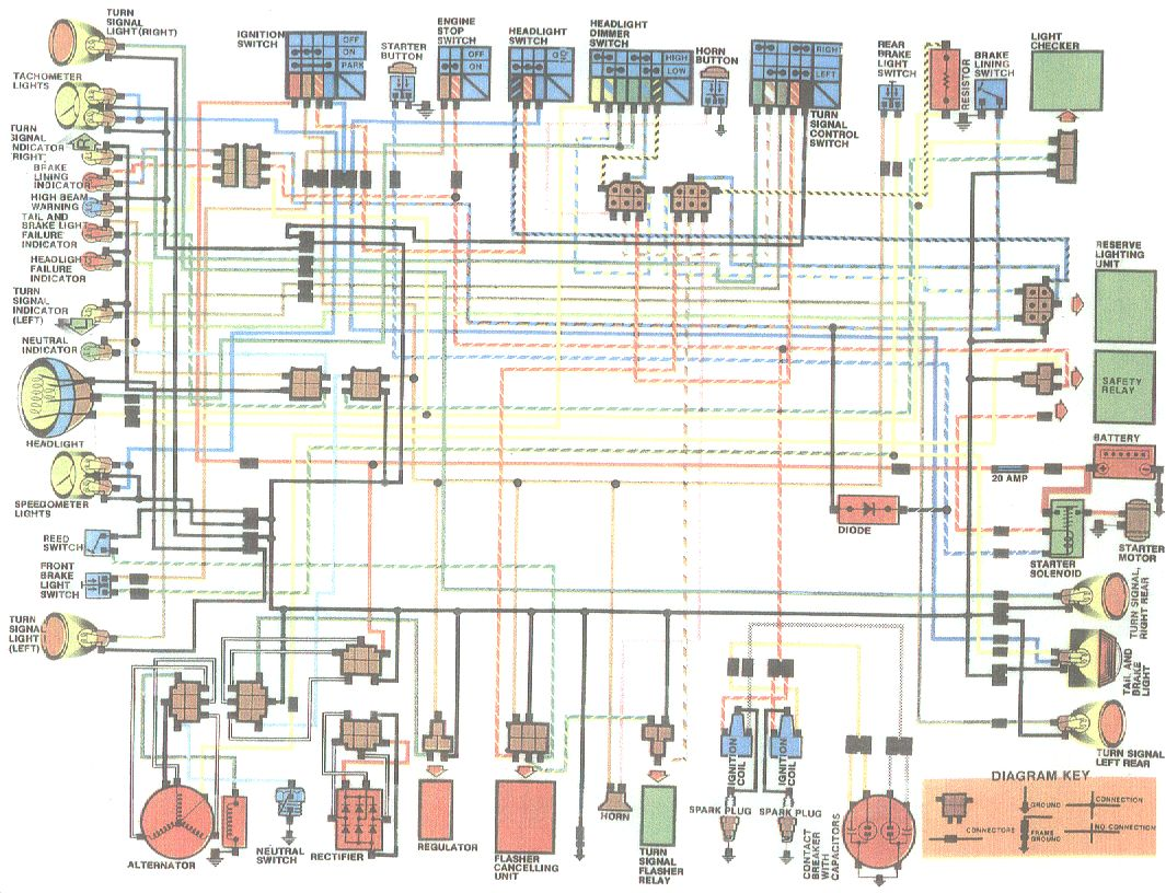 hight resolution of yamaha xt 200 wiring diagram