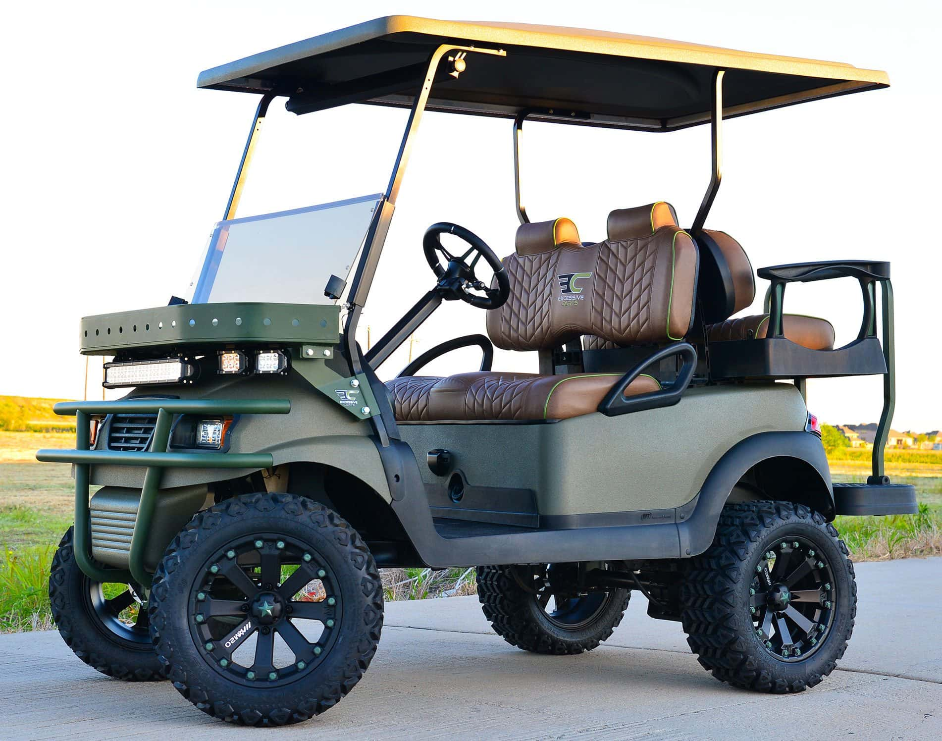 hight resolution of the fury golf cart