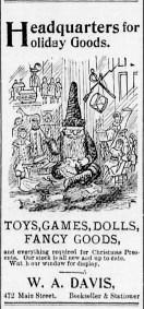 1896-12-16 WA Davis Booksellers