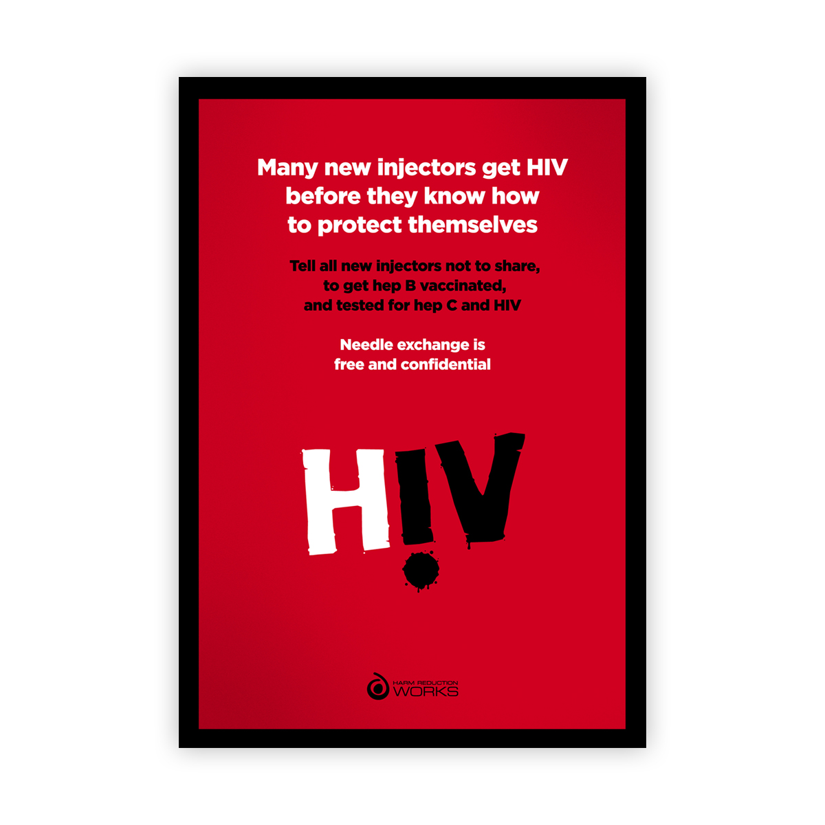 Hiv Poster New Injectors